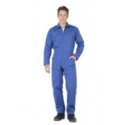 Combinaison de travail zip LA FILEUSE Bleu Bugatti