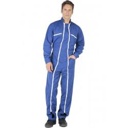 Combinaison de travail 2 zips QUICK Bleu Bugatti