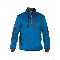 Sweatshirt de travail bicolore STELLAR bleu gris