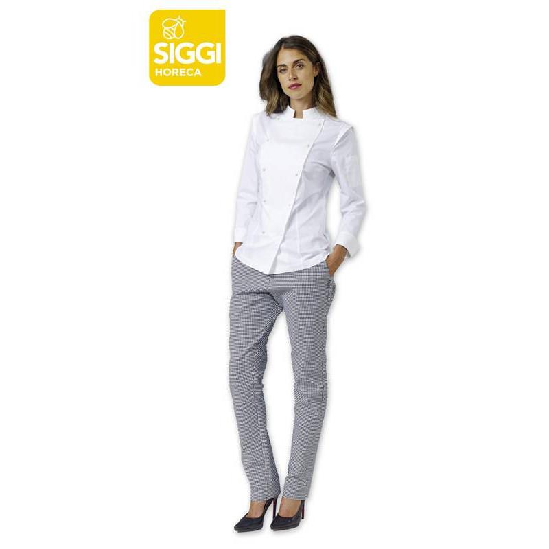 42a5fce4059 Veste de cuisine femme manches longues DALILA - BGA Vêtements