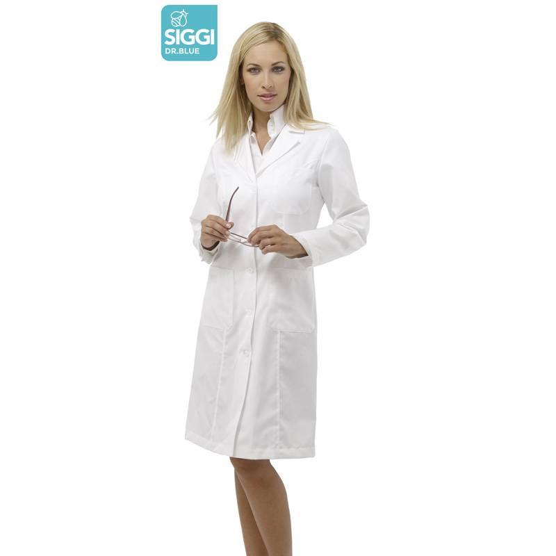 Blouse médicale femme blanche coton DRIMMER