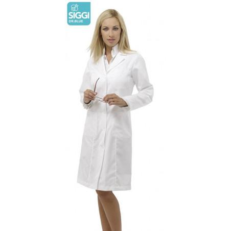 DRIMMER Blouse médicale femme blanche coton