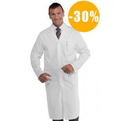 Blouse médicale homme coton SANFOR DESTOCKEE