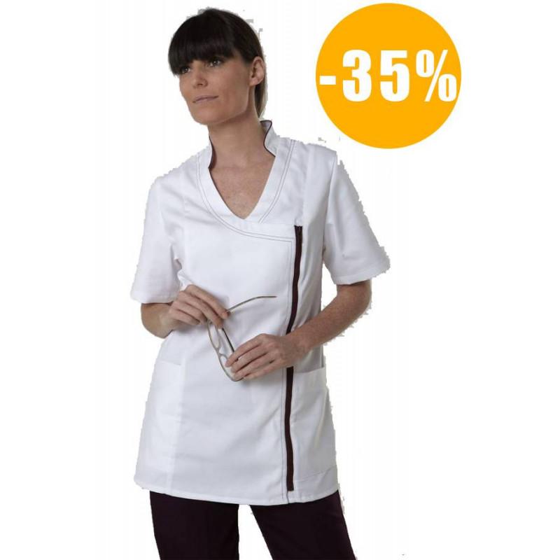 Tunique de travail médicale femme manches courtes SIAM destockée