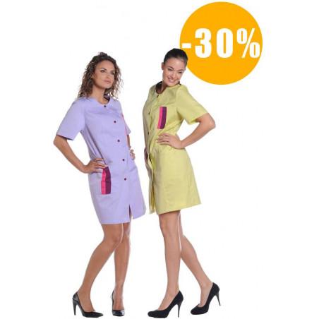 SICILIA Blouse de travail femme destockée
