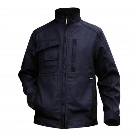 KENT veste de travail multipoches en canvas avec renforts cordura