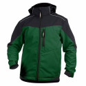 JAKARTA veste softshell bicolore homme vert noir