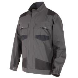URBANWEAR veste de travail coton gris