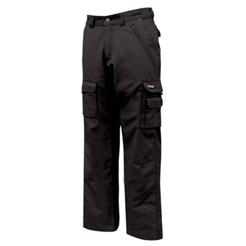KINGSTON Pantalon de travail homme noir