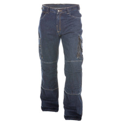 KNOXVILLE Jean de travail multipoches homme entrejambe court
