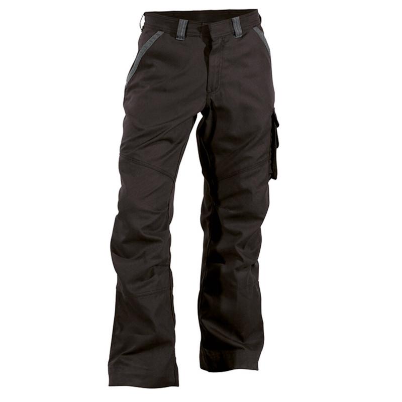 STARK Pantalon de travail en canvas noir