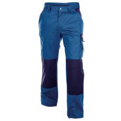 BOSTON 300g pantalon de travail poches genoux polycoton bleu