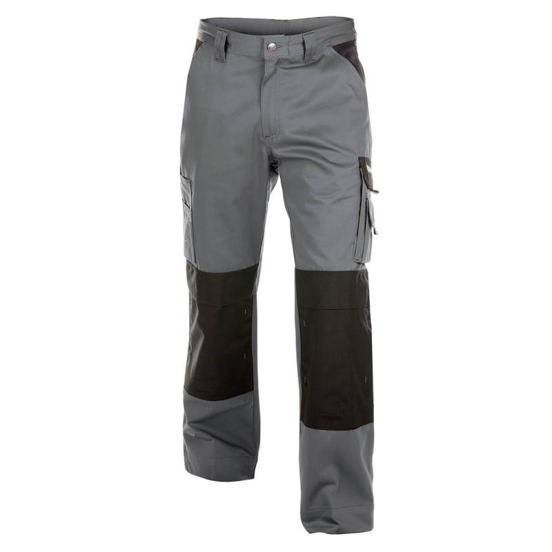 BOSTON 245g pantalon de travail poches genoux polycoton gris