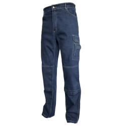 TYPHON JEANS pantalon de travail poches genoux