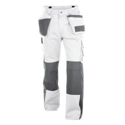 SEATTLE Pantalon pour peintre blanc 245gr