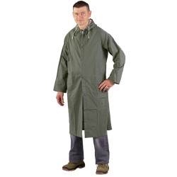 RAINWEAR Manteau de pluie PVC vert