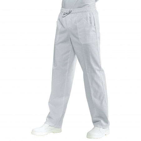 DOC Pantalon médical mixte à taille élastique