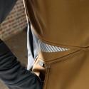 FUSION Gilet de travail hivers bicolore marron gris