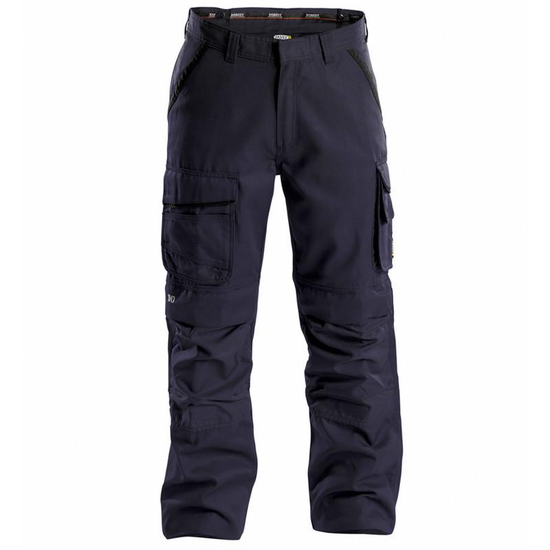 CONNOR Pantalon de travail en Canvas marine