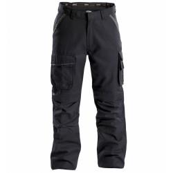CONNOR Pantalon de travail en Canvas  noir