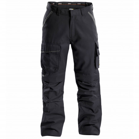 CONNOR pantalon de travail multipoches en canvas