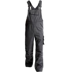 BOLT Cotte à bretelles en canvas poches genoux gris