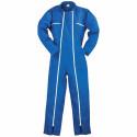 Combinaison de travail 2 zip factory bleu