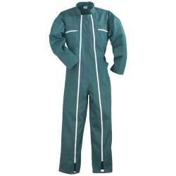 Combinaison de travail 2 zip factory vert