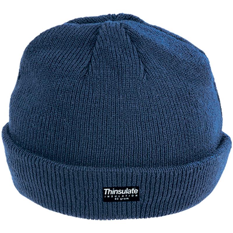 SAILOR CAP Lot de 10 bonnets intérieur thinsulate marine