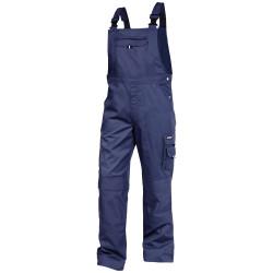 VENTURA Cotte à bretelles avec poches genoux Marine