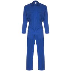 LA FILEUSE Combinaison de travail homme polycoton bleu bugatti