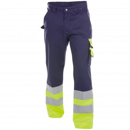 OMAHA Pantalon de travail haute visibilité polycoton