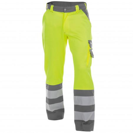 LANCASTER Pantalon de travail haute visibilité multipoche