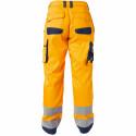 CHICAGO Pantalon de travail haute visibilité multipoche orange marine