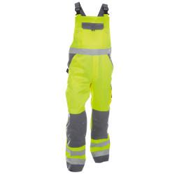 TOULOUSE Cotte à bretelles haute visibilité poches genoux