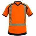 NOAH Tee shirt de travail haute visibilité col V