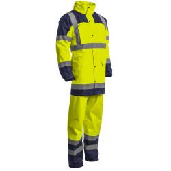 HYDRA Ensemble de pluie haute visibilité jaune