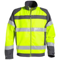 FLUOPRO Blouson de travail homme haute visibilité coton/polyester
