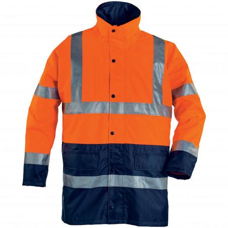 HIWAY parka de travail haute visibilité polyester
