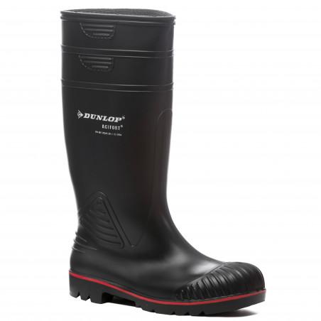 ACIFORT bottes de sécurité PVC noir
