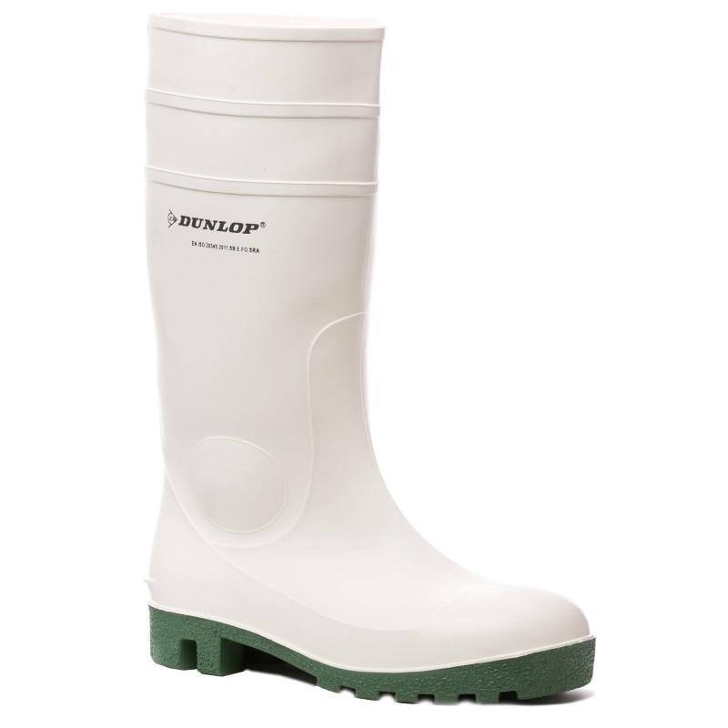HYGRADE SAFETY bottes de sécurité PVC blanc
