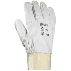 Paire de gants tt fleur chevre, protège artère