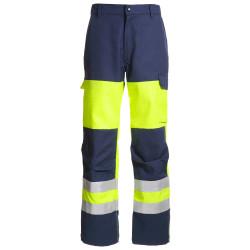 SAFELINE Pantalon de travail multirisques haute visibilité