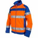 FLUOPRO Blouson de travail haute visibilité coton/polyester