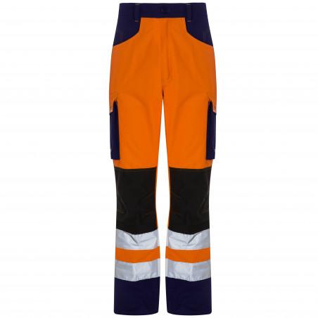 ROADY Pantalon de travail haute visibilté multipoche