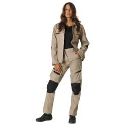 DYNAMIC FIT Pantalon de travail multipoches femme