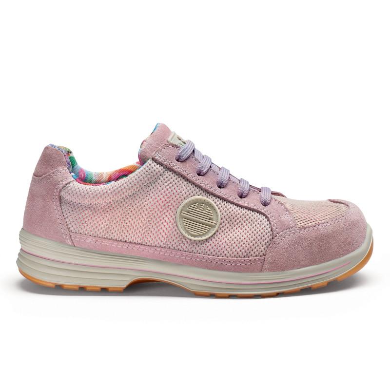 basket ou chaussure securite femme