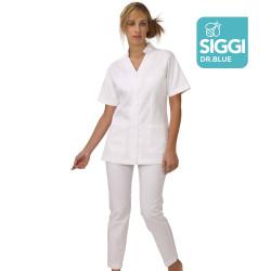 MATILDA Tunique médicale femme zip sous pattes