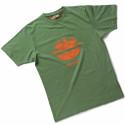 TIDY Tee Shirt de travail homme 100% coton vert