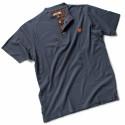 TEST Tee Shirt de travail 100% coton marine